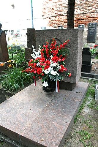 Maxim Litvinov - Grave of Maxim Litvinov at Novodevichy Cemetery in Moscow