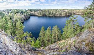Lake Yastrebinoye - Image: Озеро Ястребиное 02
