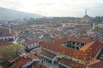 Old Bazaar, Skopje - View above the Old Bazaar