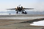 Прибытие экипажей фронтовых бомбардировщиков Су-24М с авиабазы Хмеймим в Сирии на аэродром Центрального военного округа (4).jpg