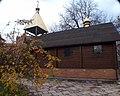 Сучасна церковна споруда на території та фундаменті Свято-Федорівський (Вотч) монастир, Київ.jpg