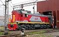 ТЭМ18В-029, Россия, Санкт-Петербург, станция Санкт-Петербург-Товарный-Московский (Trainpix 137394).jpg