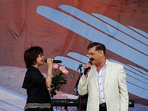 Verasy - Image: Тиханович и Поплавская (Верасы)