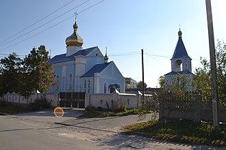 Shepetivka - Image: Фасад головного входу