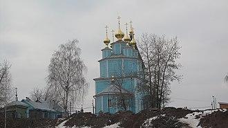 1792 in Russia - Церковь Казанской Иконы Божией Матери, с. Великий Враг