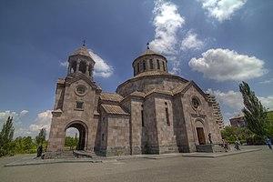 Nor Nork District - Image: Սուրբ Սարգիս եկեղեցի, Նոր Նորք, Երեւան