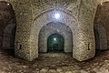 عکاسی در شب از کاروانسرای خشتی گچی دیر گچین، بزرگترین کاروانسرای ایرانی با قدمت ساسانی، سلجوقی و صفوی Deir-e Gachin 23.jpg