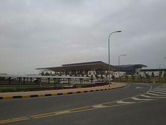 Salalah International Airport - Image: واجهة