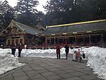 "File:""Sanjinko"" (Three Warehouses) of Nikko Tosho Shrine.JPG"
