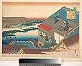 百人一首 うばがゑとき 伊勢-Poem by Ise, from the series One Hundred Poems Explained by the Nurse (Hyakunin isshu uba ga etoki) MET DP141102.jpg