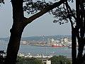 稲荷神社から見た塩釜港 Shiogama Port, looking down from Inari Shrine - panoramio.jpg