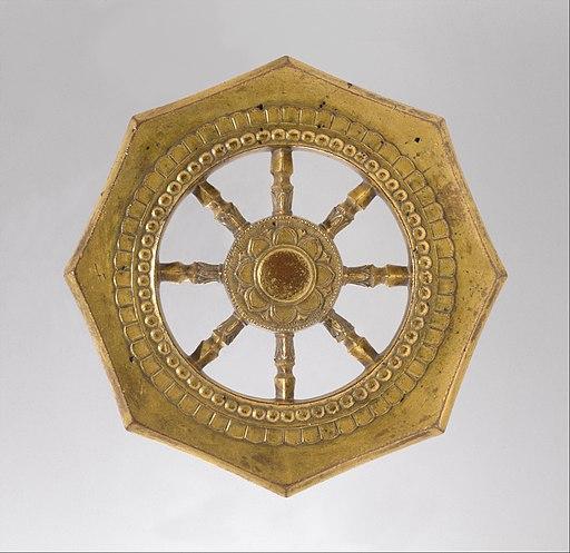 輪宝-Wheel of the Buddhist Law (Rinpō) MET DT352194
