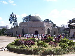 The Dodoma Cathedral.