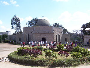 Dodoma - The Dodoma Cathedral.