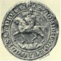 01892 Siegel des Herzogs Bolosław Georg von Ruthenien (1335).png