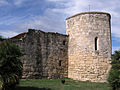 01 Jaciment d'Olèrdola, torre oest de la muralla romana.JPG