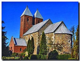 Asser Rig - Fjenneslev Church at Sorø
