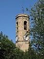 082 Església de Sant Joan Baptista (Sant Joan Despí), campanar, des del c. Mercat.jpg