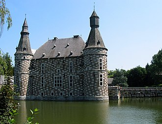 Alphonse Balat - Image: 0 Jehay Château (1)