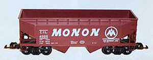 G scale - 1-32 Scale 2-Bay Offset Hopper by Mainline America