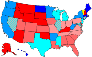 United States House of Representatives elections, 2000 - Image: 107 us house membership