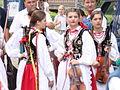 10 Bukowskie Prezentacje Folkloru Młodych Bukowsko 2009.JPG