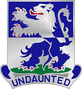 119th Infantry Regiment (United States) - Image: 119 Inf Rgt DUI