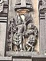 12th-century Belur Vaishnavism Hindu temples complex, Kama and Rati.jpg