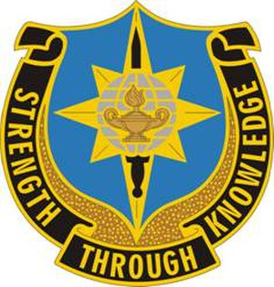 300th Military Intelligence Brigade (United States) - Image: 141 MI Bn DUI