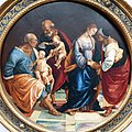 1513 Signorelli Die Heilige Familie mit Zacharias, Elisabeth und dem Johannesknaben Gemäldegalerie Kat.Nr. 798 anagoria.jpg