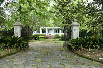 Spring Hill (Mobile, Alabama) - Image: 152 Tuthill Lane Marshall Dixon House 02