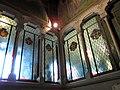 168 Casa Alegre de Sagrera (Terrassa), vitralls de l'escala.JPG