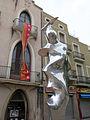 171 Flama II, de Ferran Bach Esteve, pl. Saragossa (Terrassa).JPG