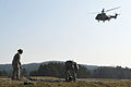 173rd Airborne Brigade Mission Rehearsal Exercise - sling load training with Bulgarian forces (7008105511).jpg