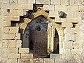 180 Ruïnes del monestir de Vallsanta (Guimerà), absis, façana sud.jpg
