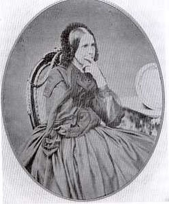 Caroline of Hesse-Homburg (1819-1872) - Princess Caroline of Hesse-Homburg, Regent of Reuss-Greiz.