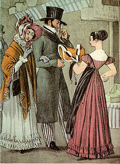 costume and fashion of the 1820s