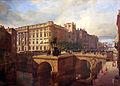 1842 Roch Blick auf Kurfuerstenbruecke und Schloss anagoria.JPG