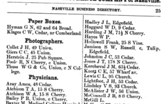 1876 photographers Nashville Tennessee city directory.png