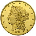 1877 $50 Fifty Dollar pattern (Judd-1547, Pollock-1720) Obverse.jpg