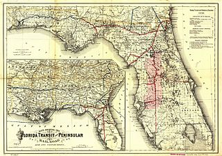 Florida Central and Peninsular Railroad Historic railroad system