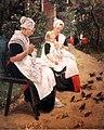 1885 Liebermann Amsterdamer Waisenmädchen im Garten anagoria.JPG