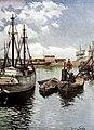 1900-06-09, Blanco y Negro, El puerto de Gijón, Álvarez Sala.jpg
