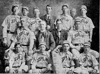 Joplin Miners - 1902 Joplin Miners baseball team