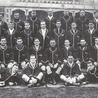 Fred Wood (rugby union) - Image: 1908 Wallaby crop
