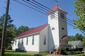 Sunray Agricultural Historic District - Image: 1915 St Marys Sunnyray Church