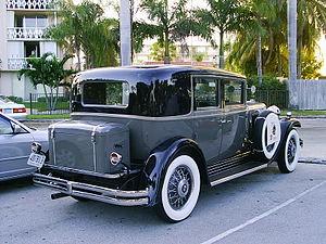 Nash Ambassador - 1931 Nash Eight-90 Ambassador sedan
