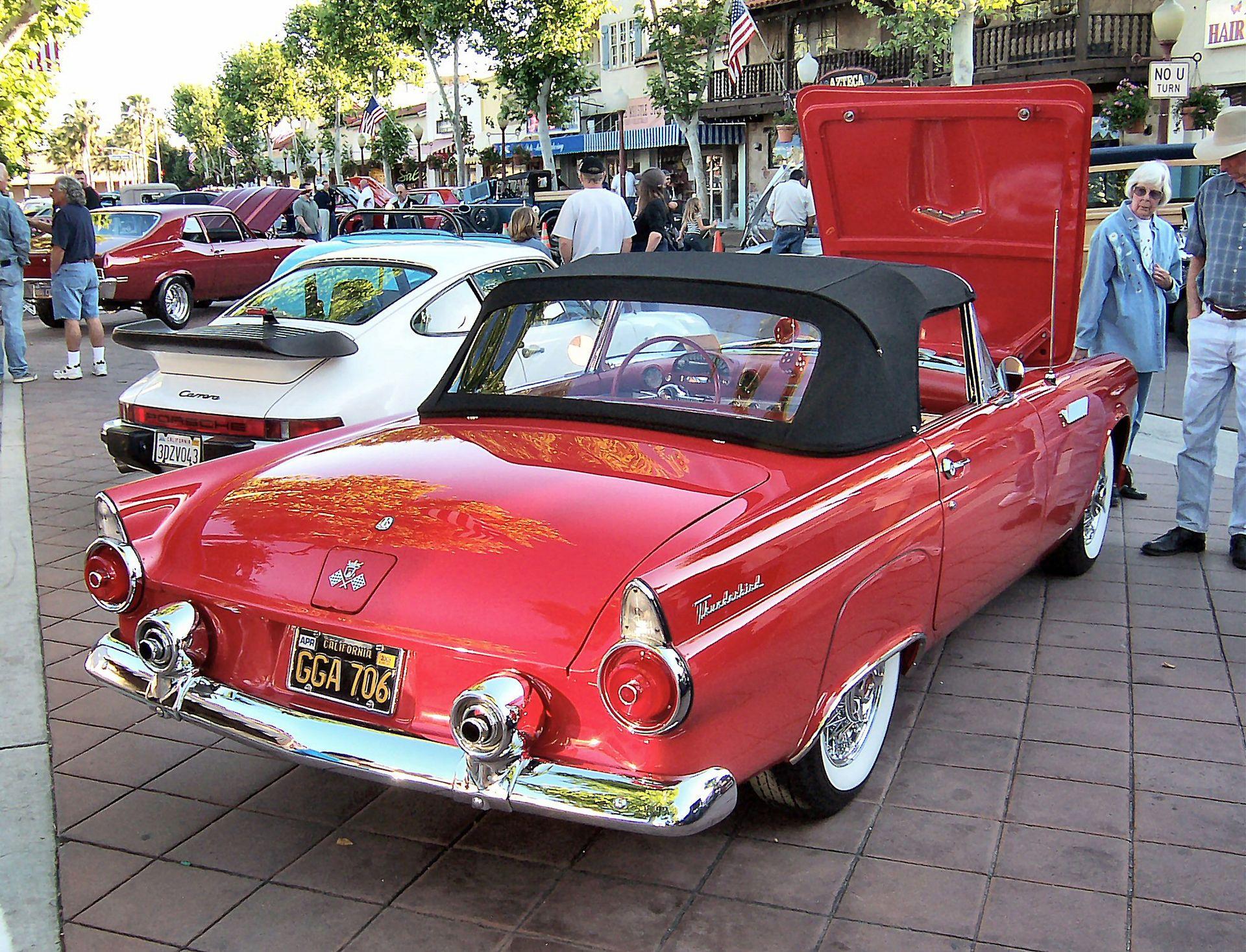 Ford Thunderbird - Wikimedia Commons