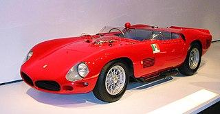 Ferrari 250 Testa Rossa car model