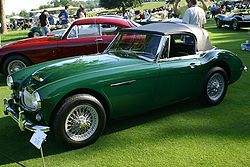 1955 Austin Healey 100M - Mathews Collection